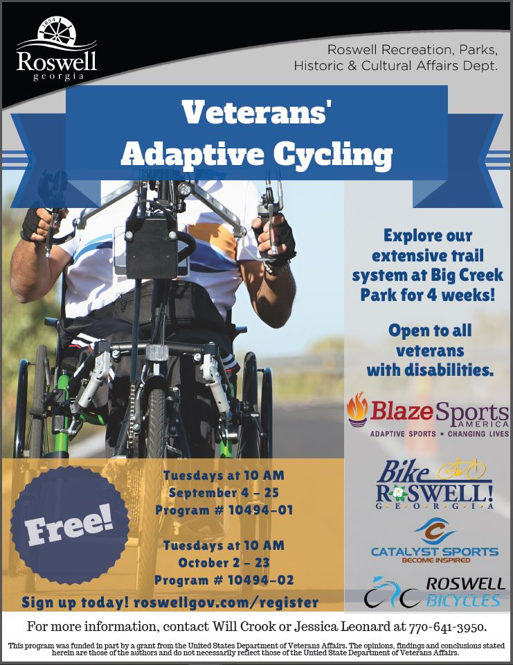 Adaptive Cycling League info flier