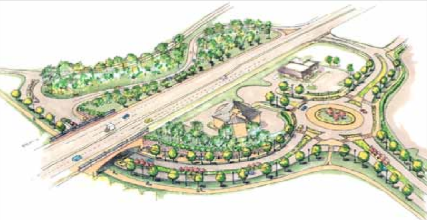 HBR underpass and proposed Big Creek Greenway connection - 2012 HBR study