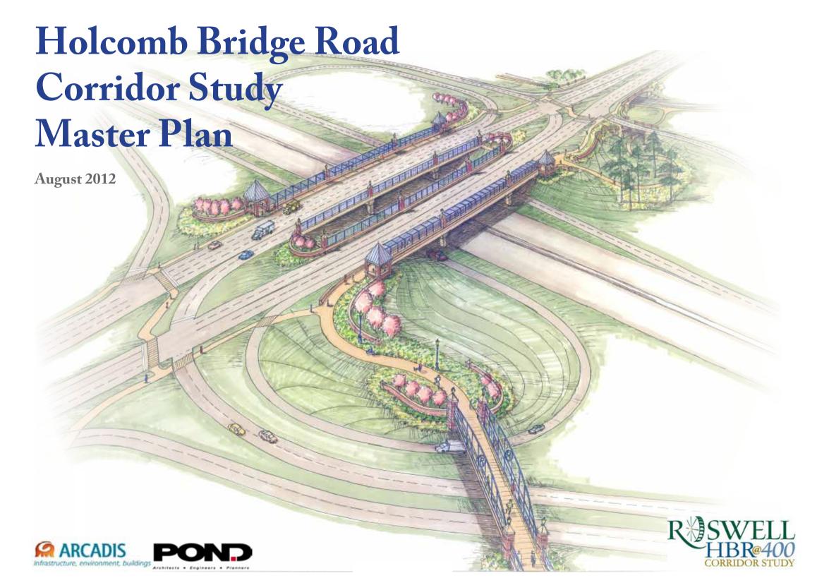 Holcomb Bridge Road Corridor Study Master Plan